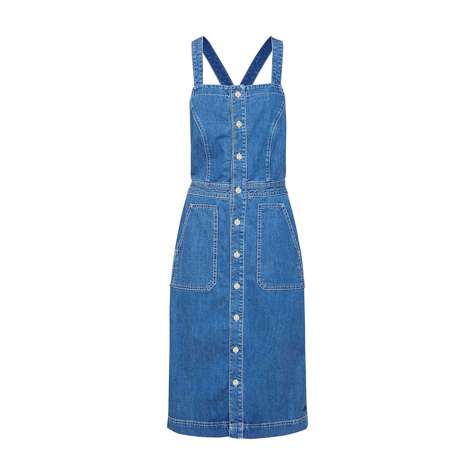 Pepe Jeans Kleid Jenny Jeanskleider blue denim Damen Gr. 40