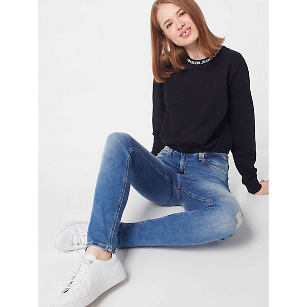 Klein Calvin Sweatshirt Sweatshirts Schwarz Jeans CBoWxQder