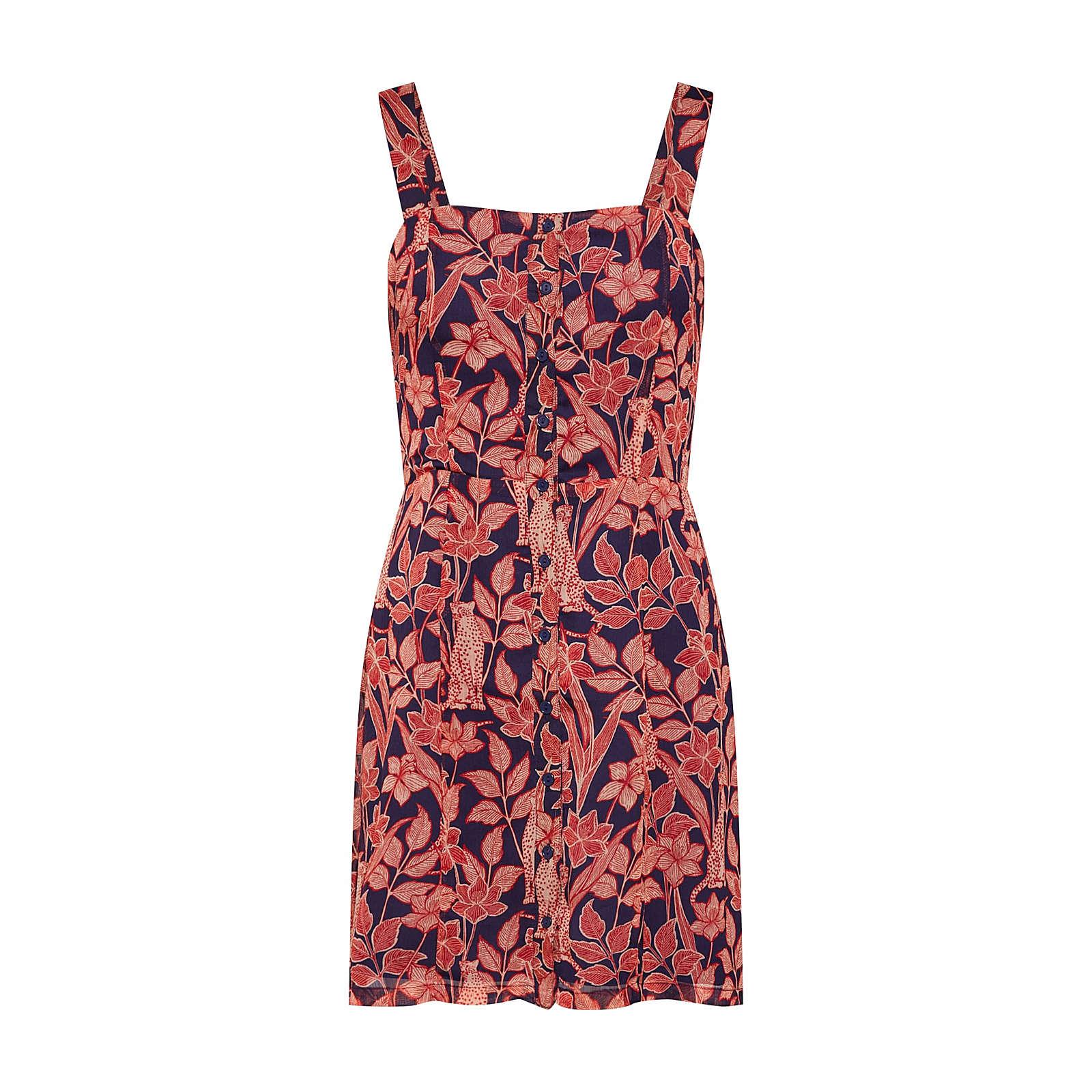 GLAMOROUS Sommerkleid Sommerkleider rot Damen Gr. 36