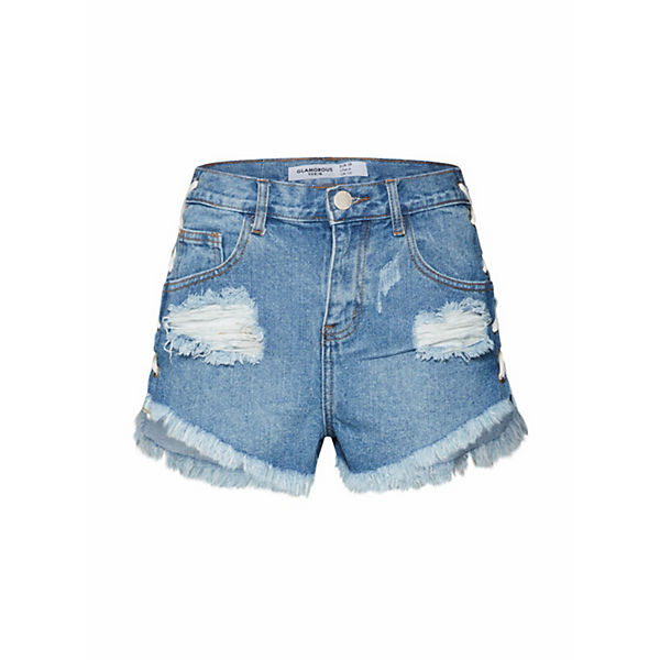 Glamorous Ea0265 Jeanshosen Denim Blue Jeans EI29DH