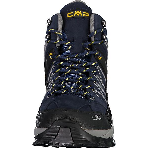Cmp Rigel Mid Trekking Shoes Wp Wanderstiefel Dunkelblau