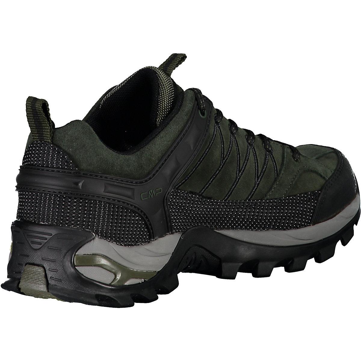 Cmp, Rigel Low Trekking Shoes Wp Wanderschuhe, Dunkelgrün