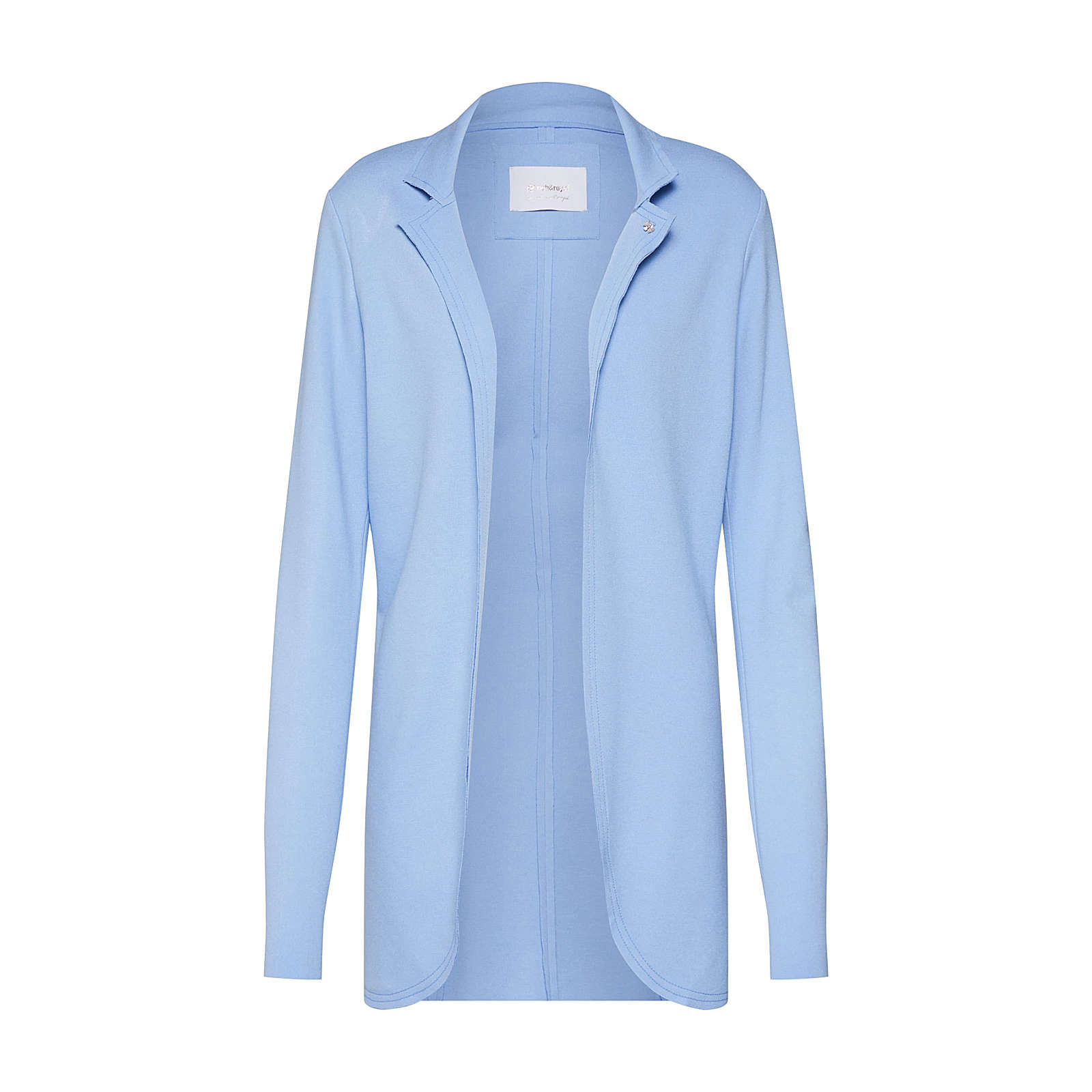 rich&royal Rich & Royal Blazer Sweat Sweatblazer hellblau Damen Gr. 40