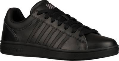 K SWISS, Court Winston Sneakers Low, schwarz