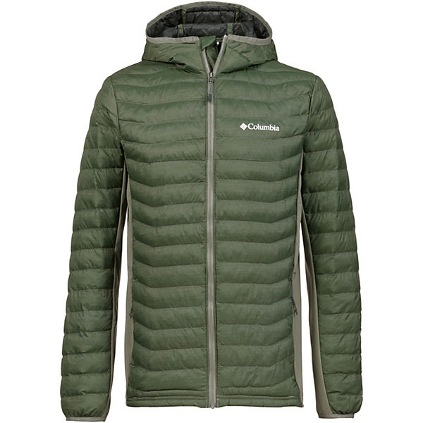 Columbia Pass Oliv Kunstfaserjacke Powder Outdoorjacken 1lFKJc