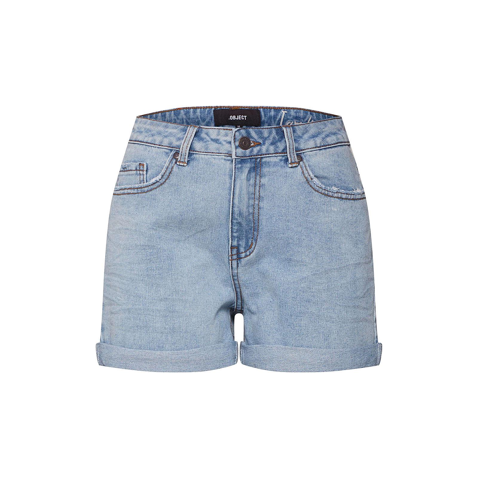 OBJECT Jeans Jeansshorts blau Damen Gr. 36