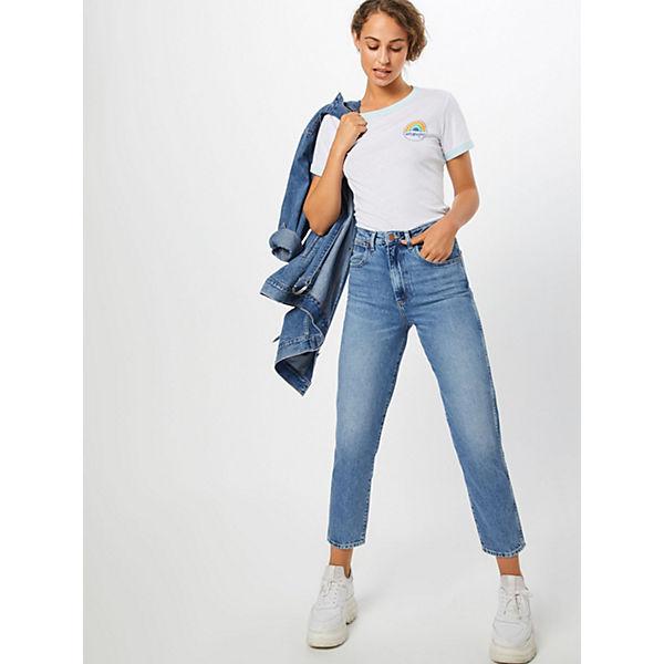 T Shirt Wrangler shirts Weiß Ringer SLqzVGjUMp