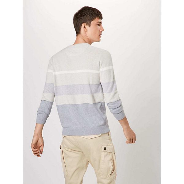 G Stripe star Core Pullover Weiß Raw QxeEdCBroW
