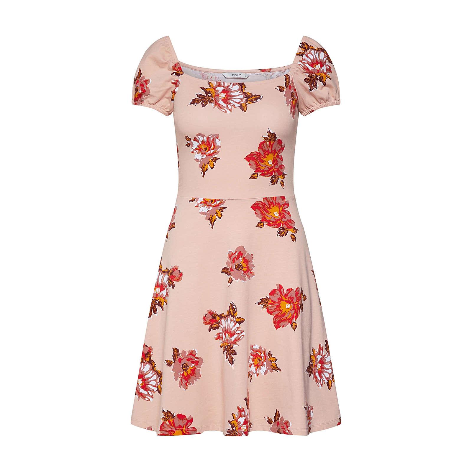 ONLY Sommerkleid NIELLA Sommerkleider rot Damen Gr. 36