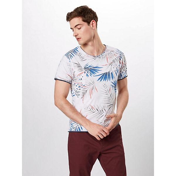 Key Largo Round Shirt Palm T Weiß Mt shirts 0nN8XwPkO