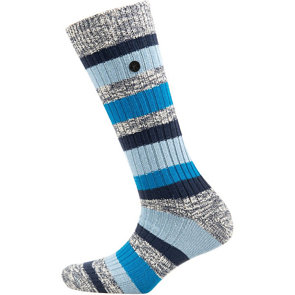 1er Pack Cotton Slub Stripes M Socken