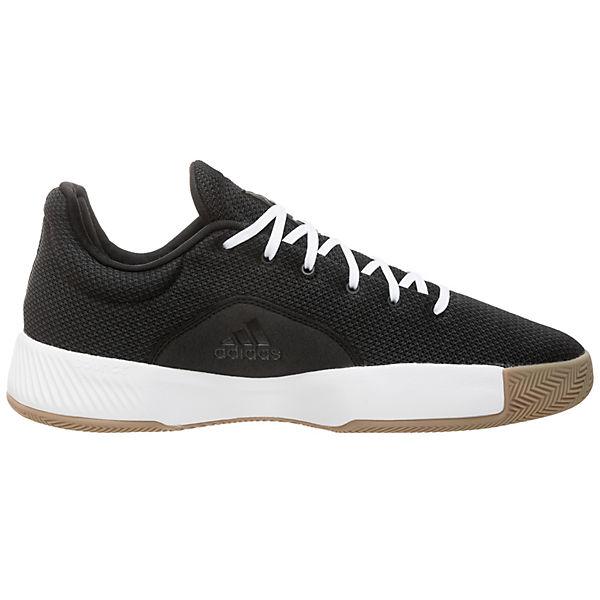 weiß Madness Adidas Pro Schwarz Performance Basketballschuh Bounce 2019 Herren Low L5Ajq34R