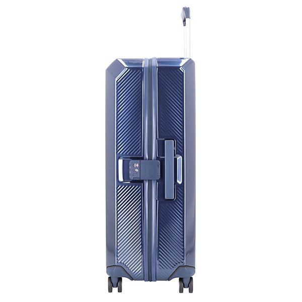 Blau 4 Cm rollen Piquadro Cubica 75 Trolley dBErWQxeoC