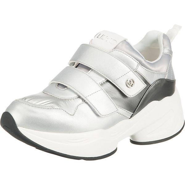 10 Liu Jog Jo Sneakers Low Silber OPZuTwikXl