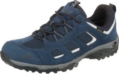 Jack Wolfskin, Vojo Hike 2 Texapore Low M Wanderschuhe, dunkelblau