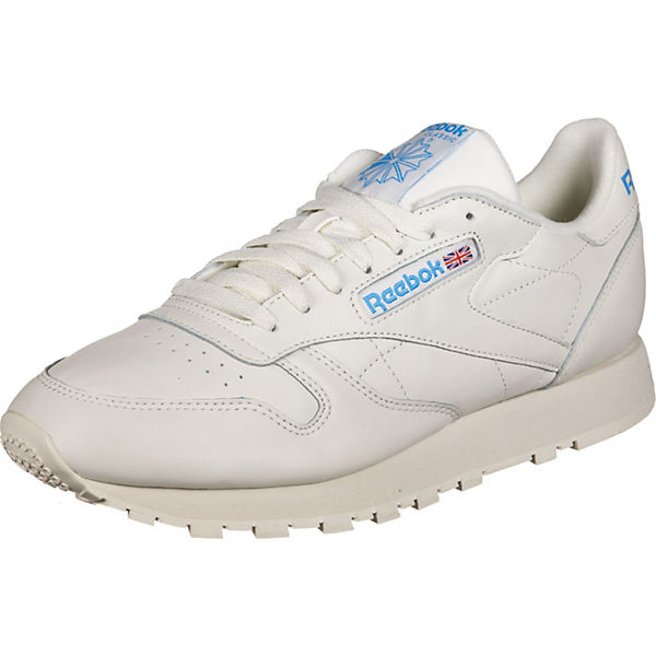 Sneakers Leather Weiß kombi Reebok Schuhe Cl Low Mu EDHWY2e9I