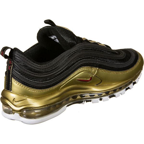 Air Nike Max Schwarz 97 Qs rot Sneakers Schuhe Low oCxrdBe