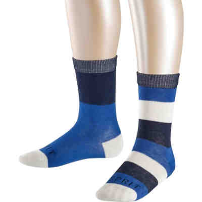 Kinder Socken Block Stripe 2er-Pack