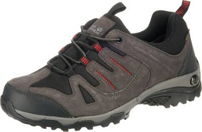 Jack Wolfskin, MOUNTAIN CREEK TEXAPORE LOW Wanderschuhe, schwarz