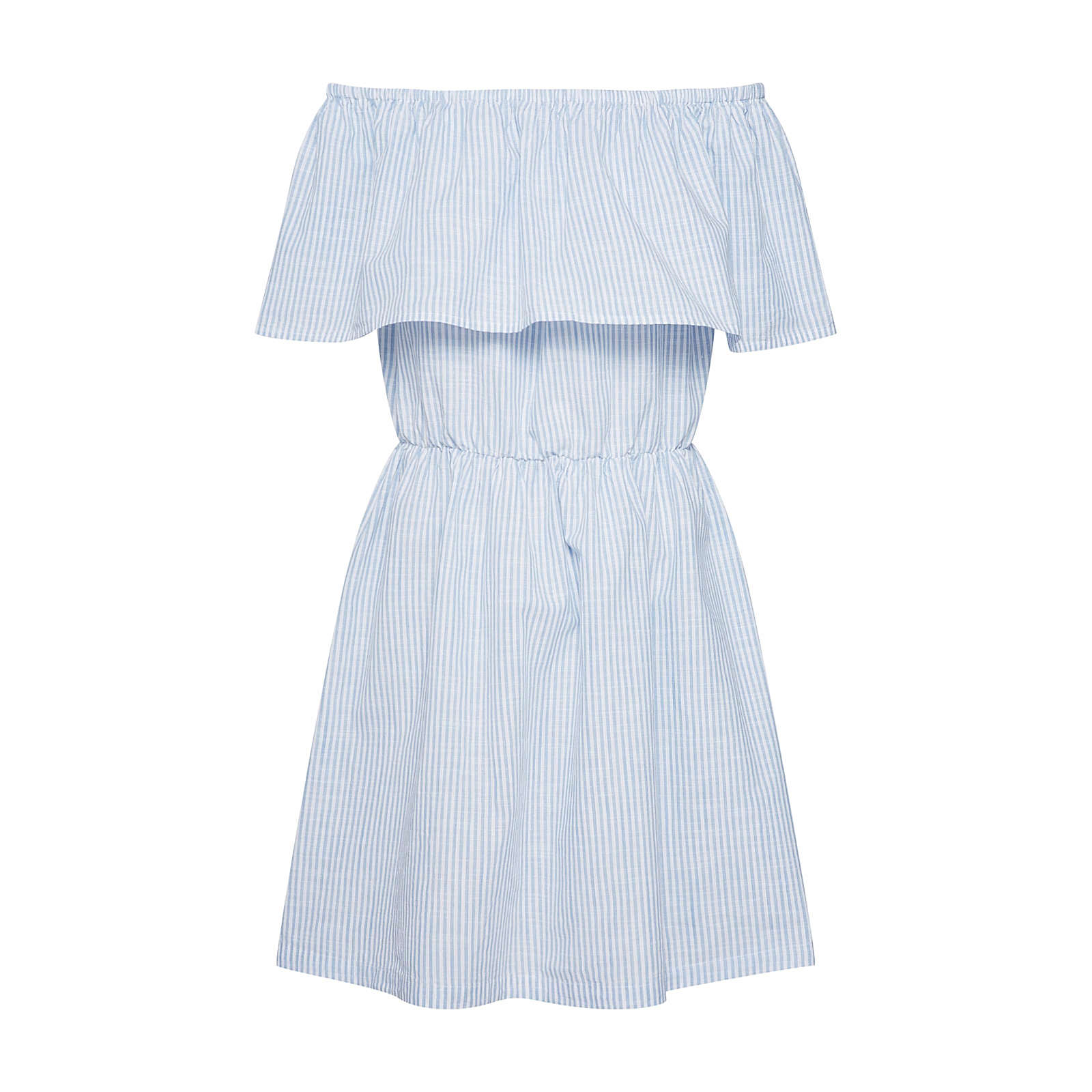 ICHI Sommerkleid Sommerkleider weiß Damen Gr. 40