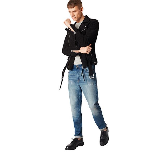 Arc Blue Denim G Jeans 3d star Jeanshosen Raw I6vbYmf7gy