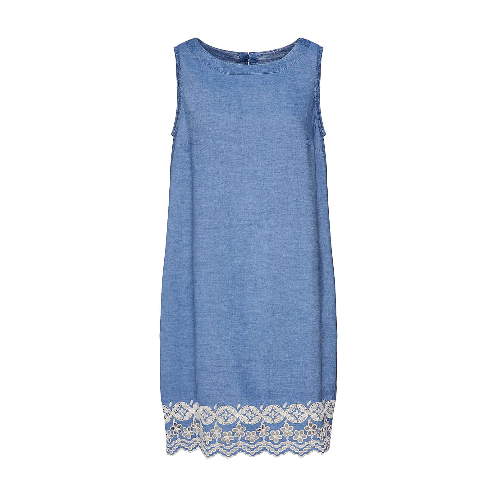 ESPRIT Kleid Jeanskleider blue denim Damen Gr. 42