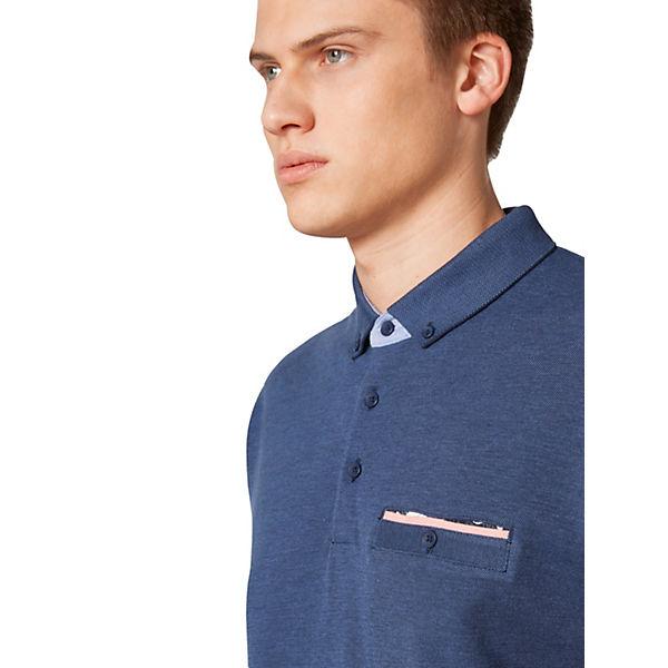 T Ocs Ss Po Shirt Blau Oxpi shirts Esprit WIEHYeD92