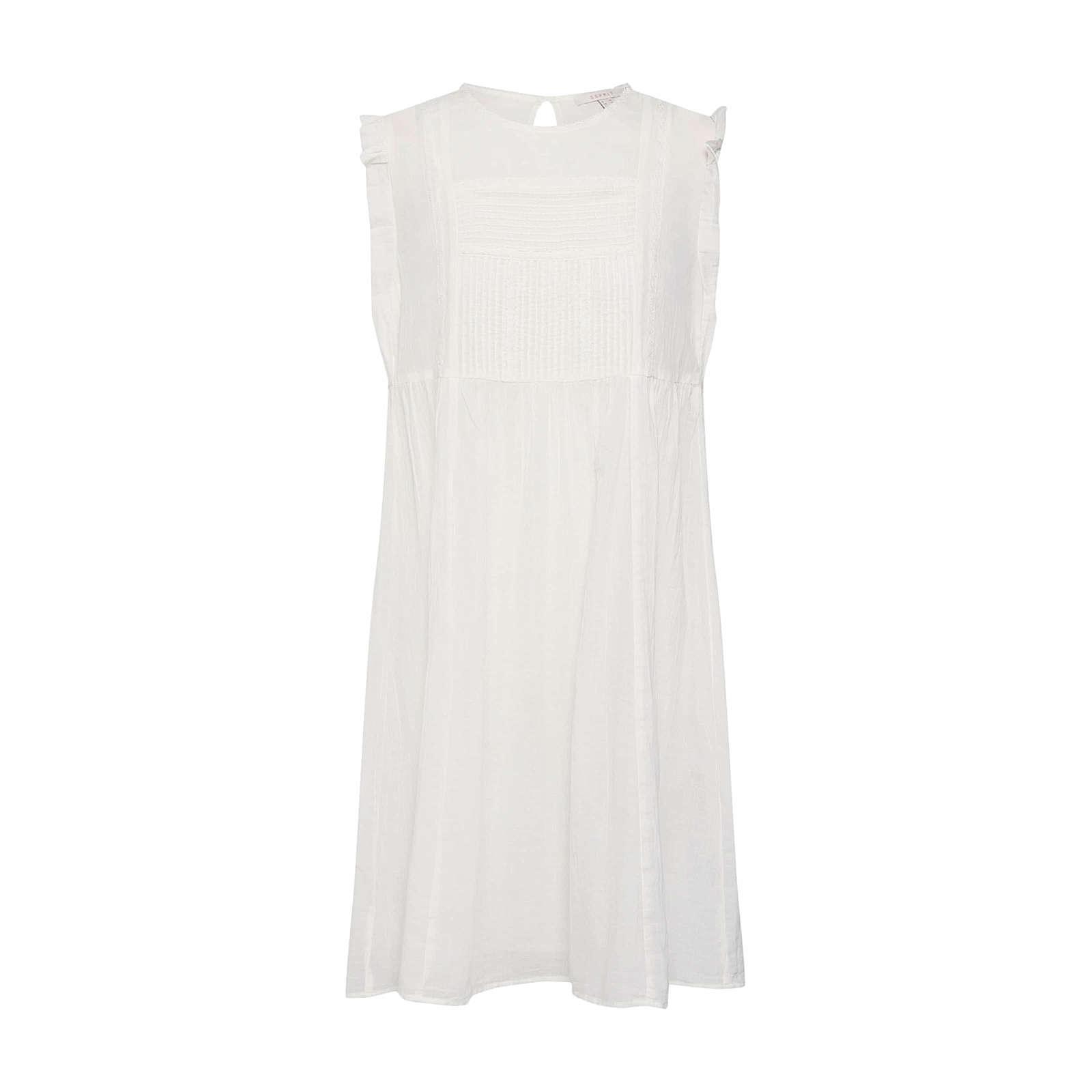 ESPRIT Sommerkleid Sommerkleider offwhite Damen Gr. 42