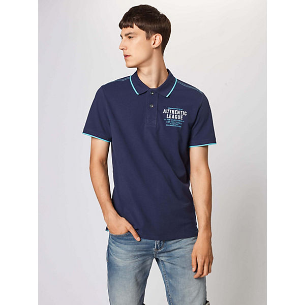 T Tailor shirts Blau Shirt Tom OZXiTPku