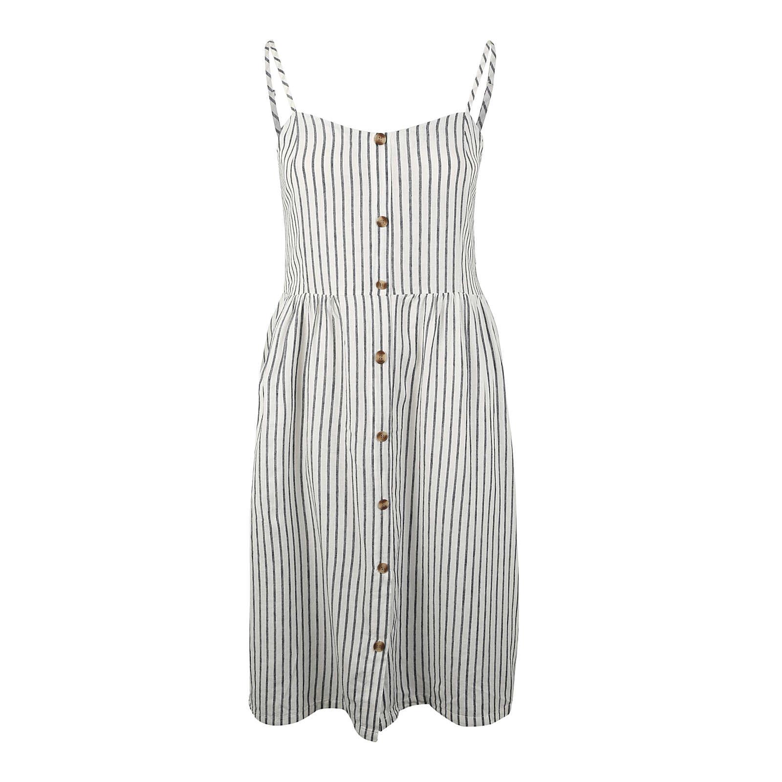 ONLY Carmakoma Sommerkleid Sommerkleider weiß Damen Gr. 46