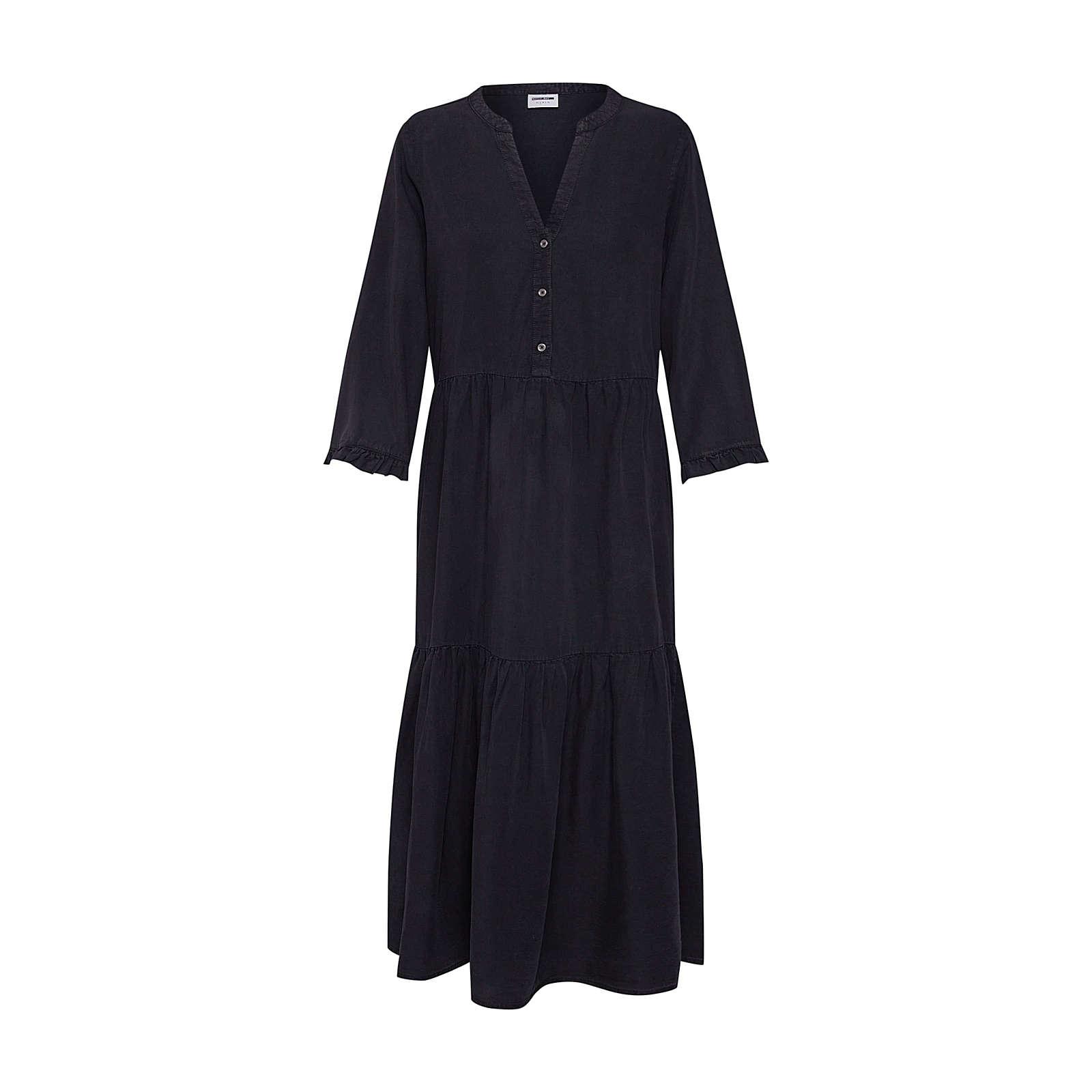 Noisy may Blusenkleid NMENDI LONG DRESS Blusenkleider schwarz Damen Gr. 34