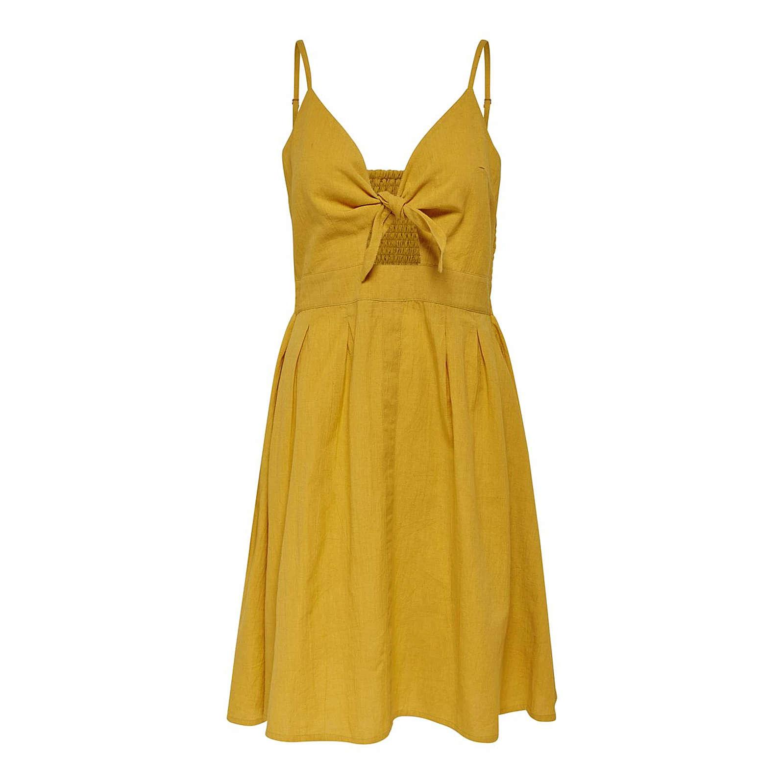 ONLY Sommerkleid Lina Sommerkleider gelb Damen Gr. 40
