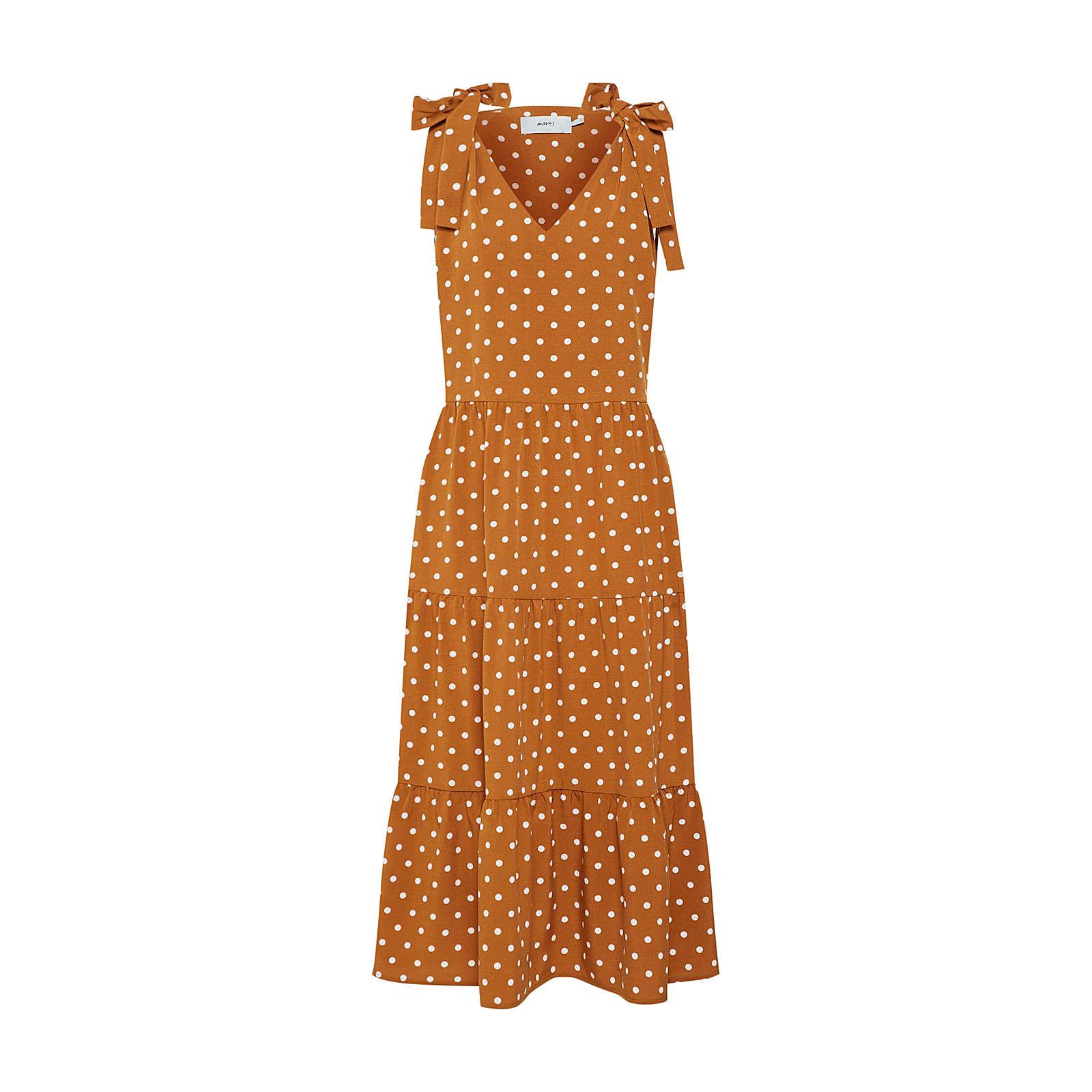Moves Sommerkleid Sommerkleider gelb Damen Gr. 40