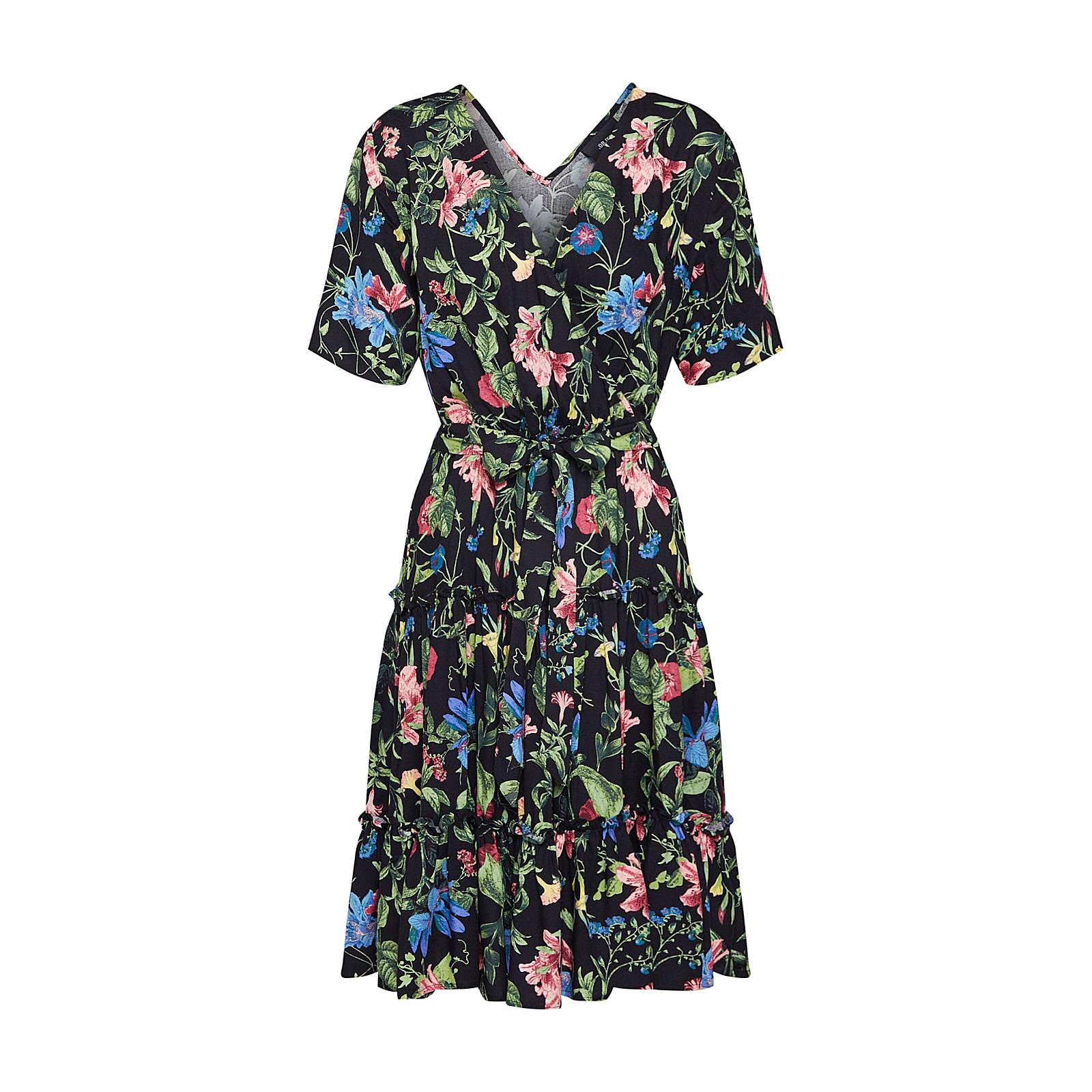 OBJECT Sommerkleid Sommerkleider schwarz Damen Gr. 40