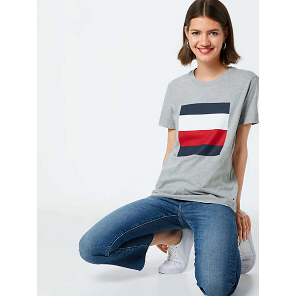 Cathy Tommy T Shirt Weiß shirts Hilfiger F3lKJcuT1