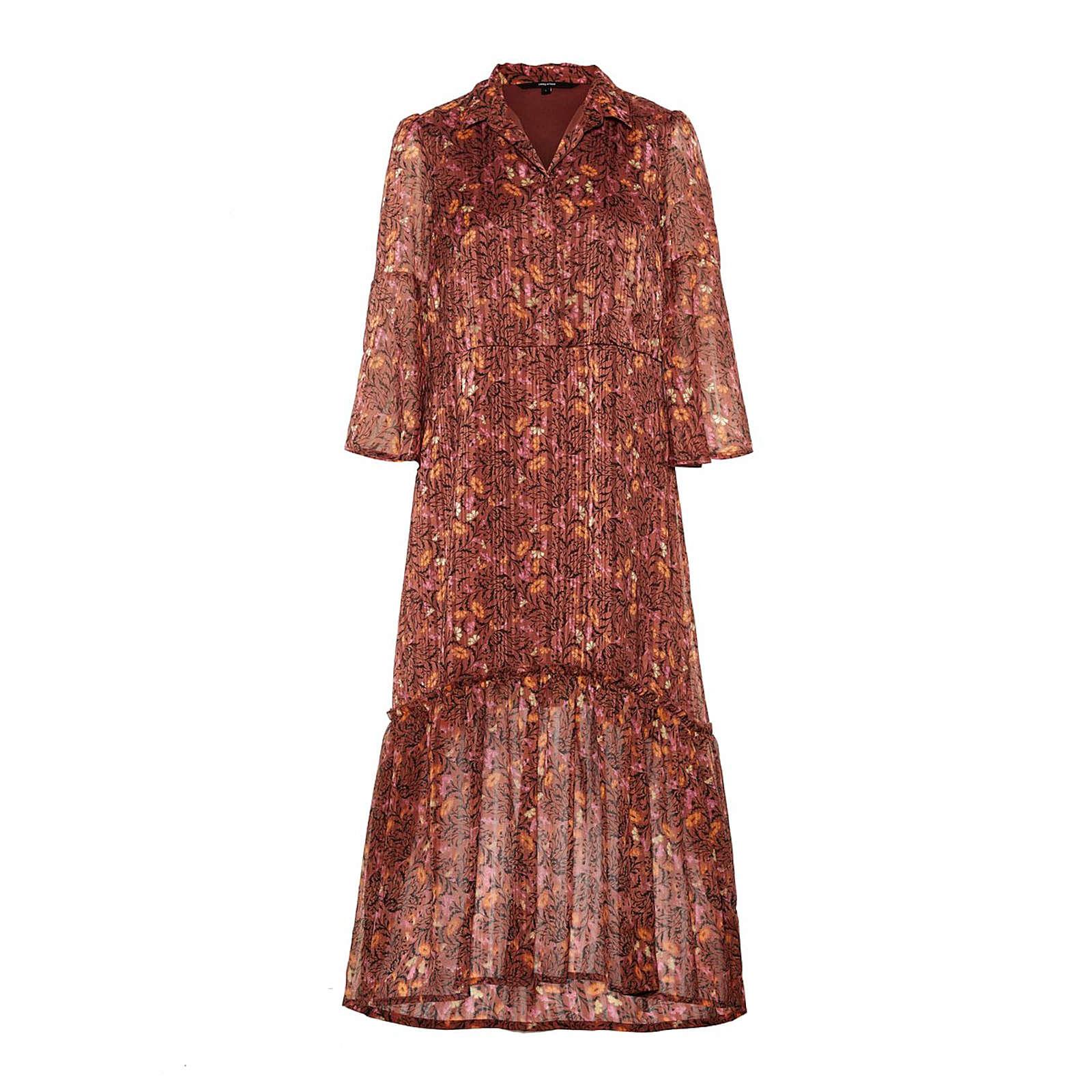 VERO MODA Blusenkleid Blusenkleider braun Damen Gr. 38