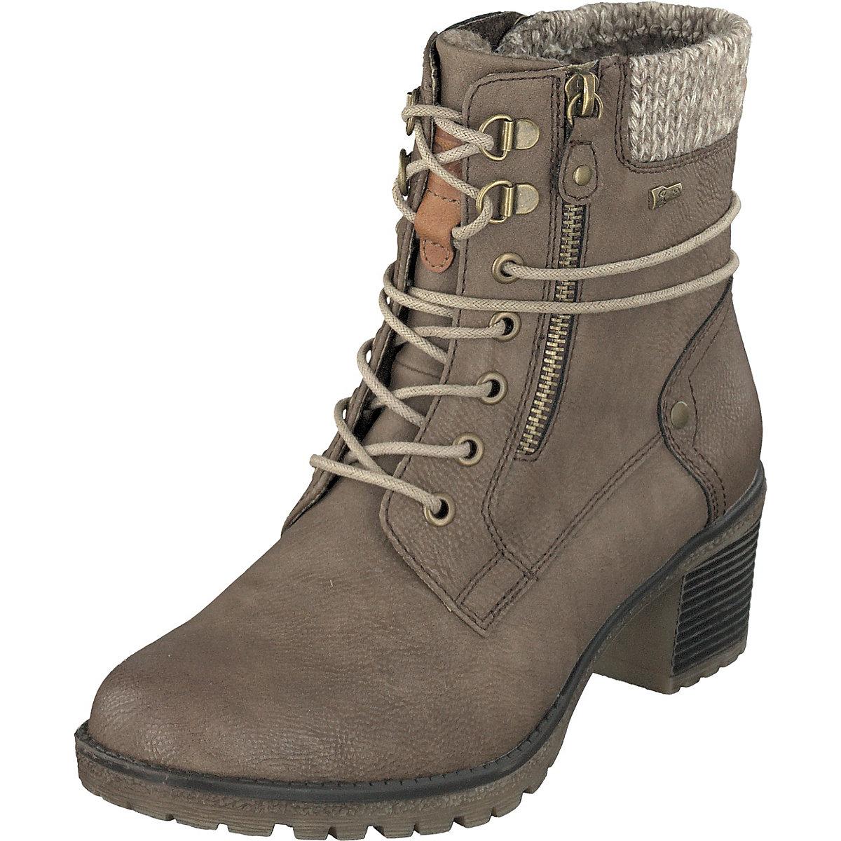 Relife, Schnürstiefeletten, beige  Gute Qualität beliebte Schuhe