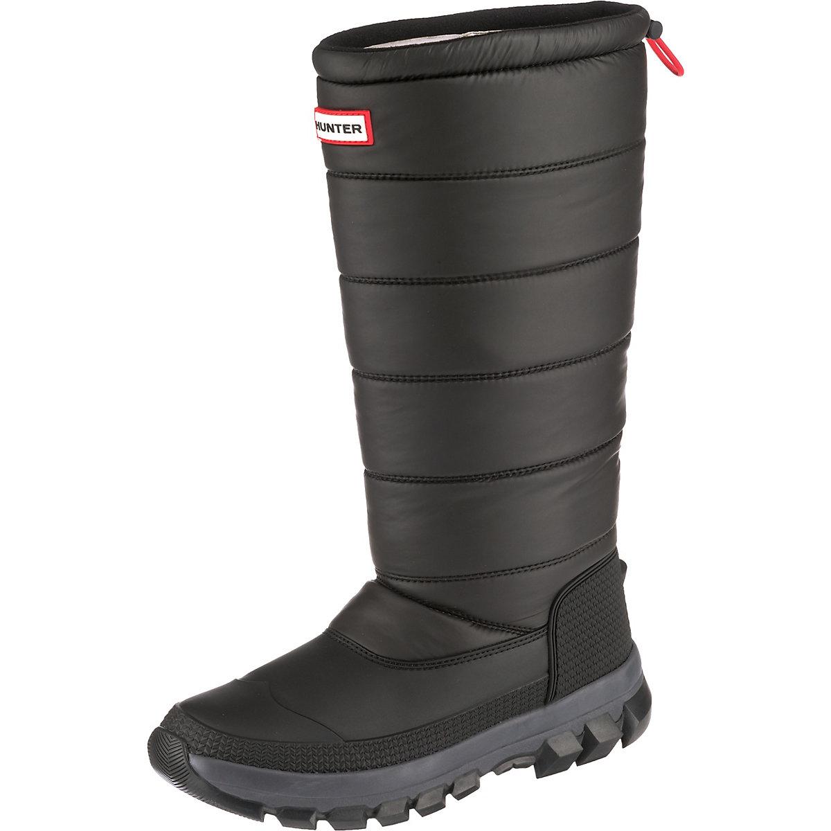 HUNTER, damen Original Snow Stiefel Tall Winterstiefel, schwarz  Gute Qualität beliebte Schuhe