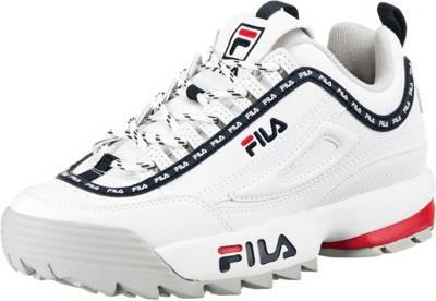 FILA, Disruptor Logo Sneakers Low, weiß