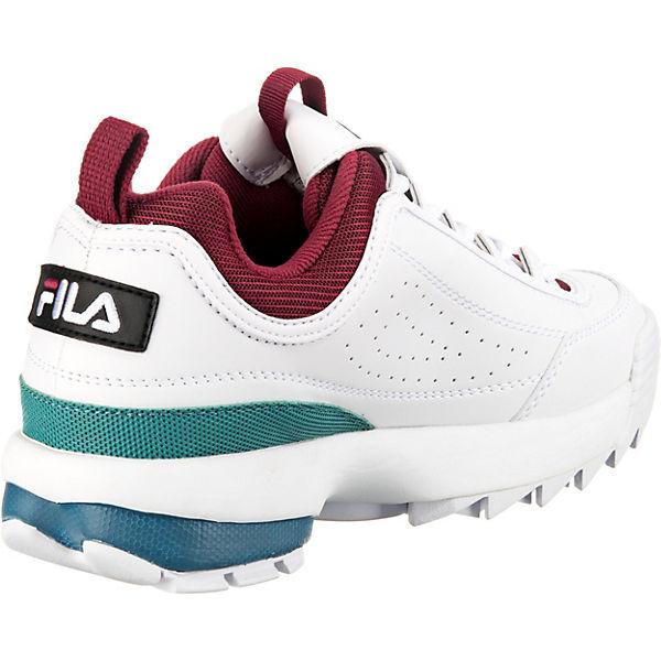 Fila Disruptor Cb Sneakers Low Weiß