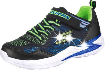 SKECHERS, Sneakers low Blinkies LUMINATORS für Jungen, schwarz