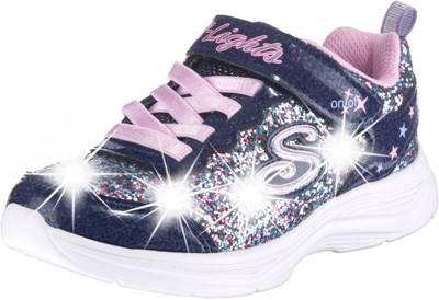 SKECHERS, Sneakers Low Blinkies Glimmer Kicks Glitter N