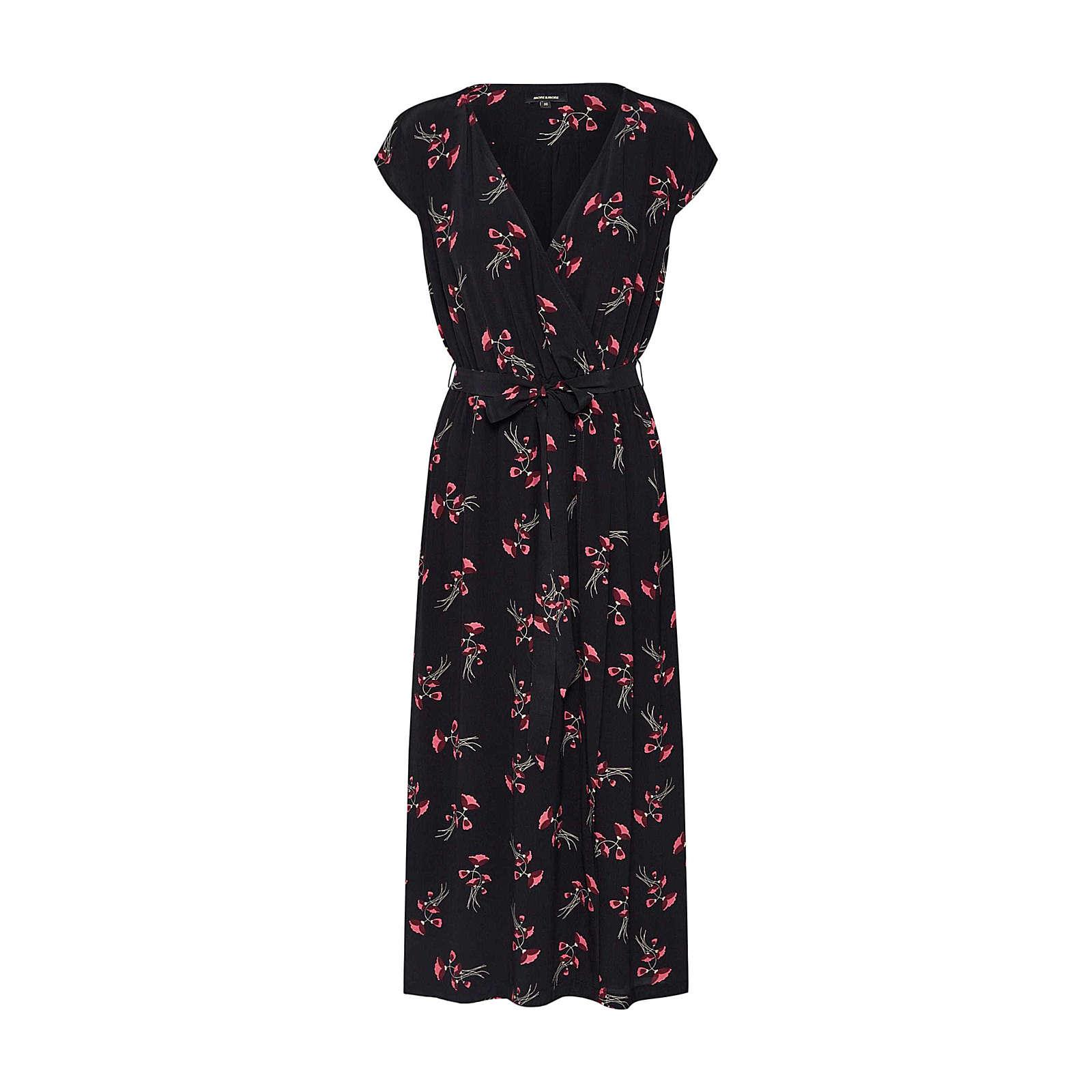 MORE & MORE Sommerkleid Sommerkleider schwarz Damen Gr. 34