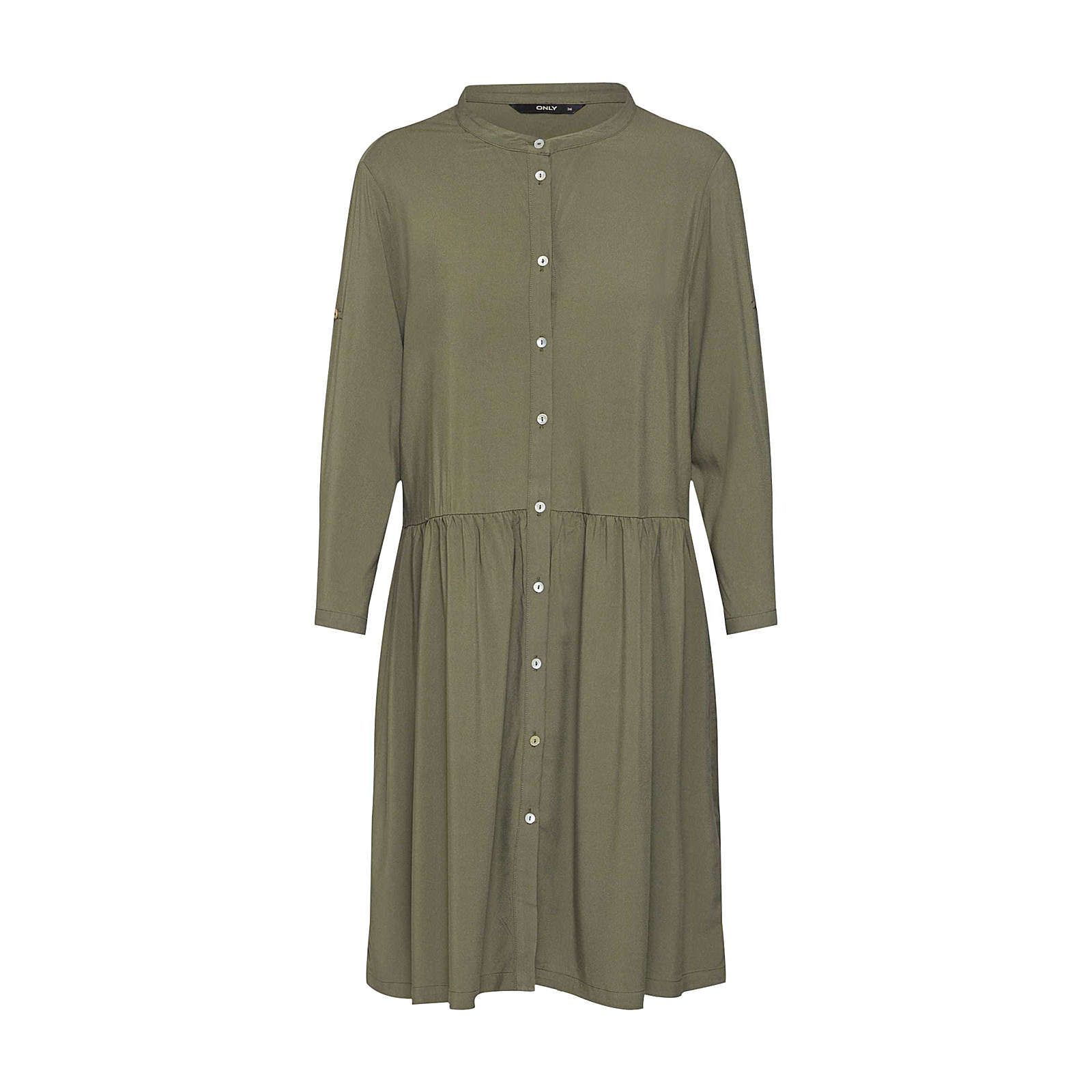 ONLY Blusenkleid Blusenkleider grün Damen Gr. 36