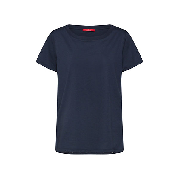 T Label shirts S Red Shirt Blau oliver 7gybfY6