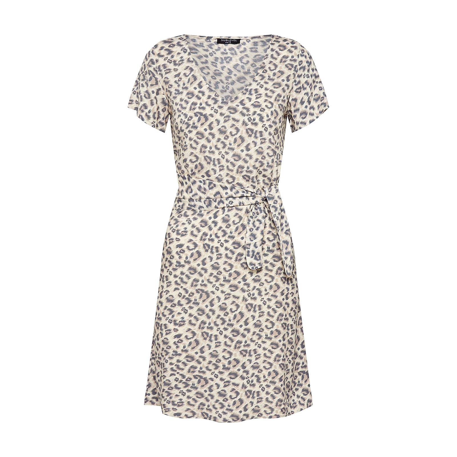 Sublevel Sommerkleid Sommerkleider beige Damen Gr. 40