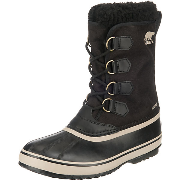 1964 Pac Nylon Dtv-black, Ancient Winterstiefel