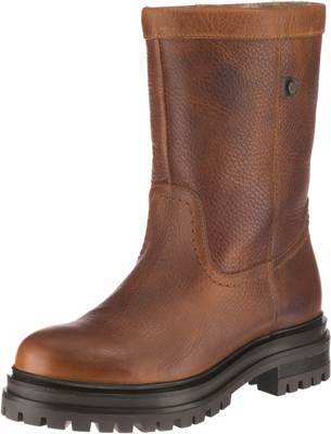 ECCO STIEFEL GR 40 (N335 95 1459) Damen Boots Schuhe Filz