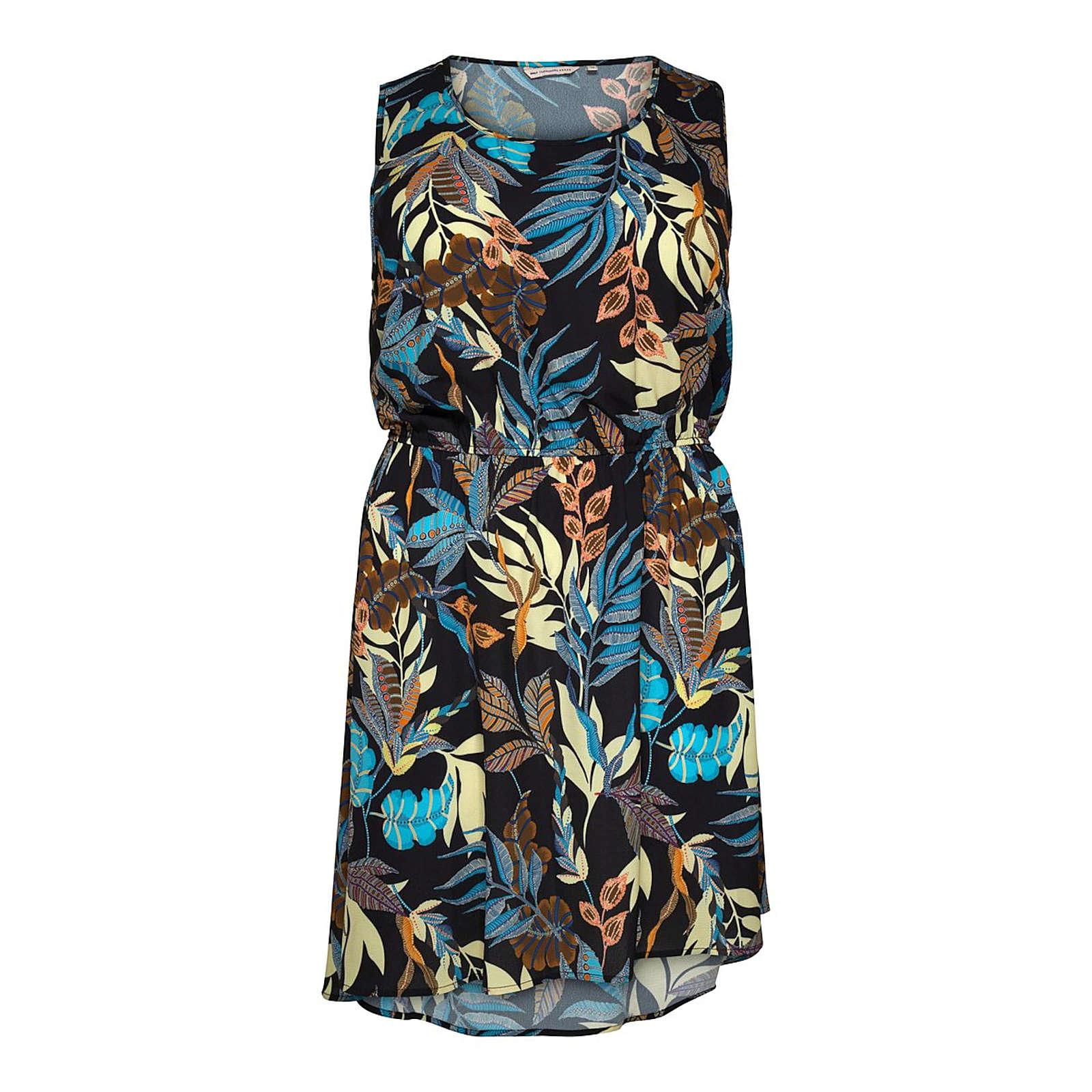 ONLY Carmakoma Sommerkleid Sommerkleider schwarz Damen Gr. 46