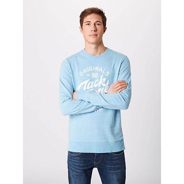 Jackamp; Sweatshirts Jorsummertime Sweat Weiß Sweatshirt Jones 3LS4c5RqAj